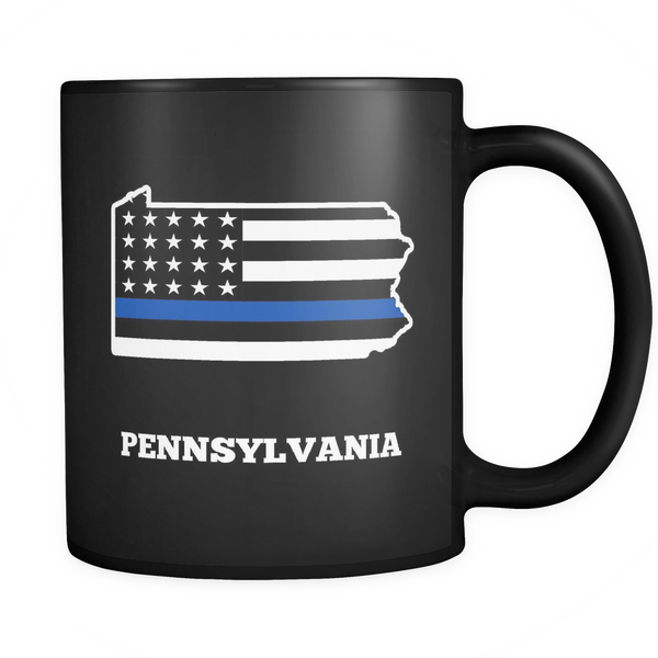 Pennsylvania Thin Blue Line - Blue Angel Coffee