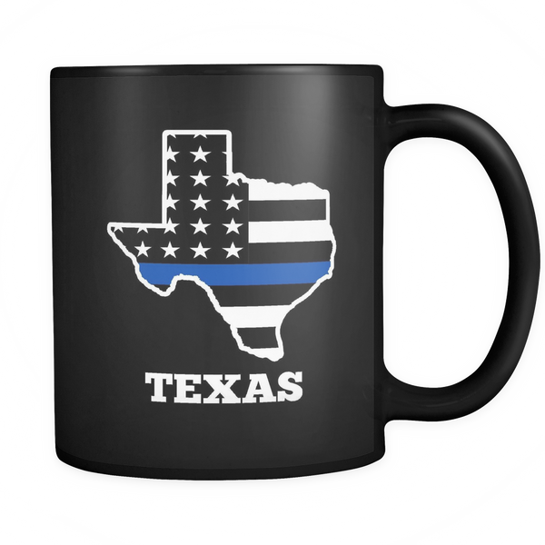Texas Thin Blue Line - Blue Angel Coffee