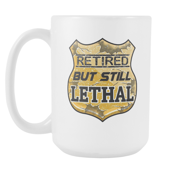Retired But Still Lethal - Blue Angel Coffee