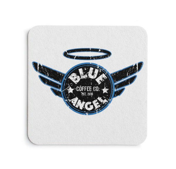 Blue Angel Coffee Coaster - Blue Angel Coffee
