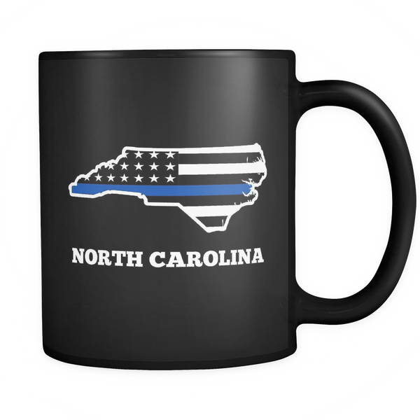 North Carolina Police Officer Mug - Blue Angel Coffee