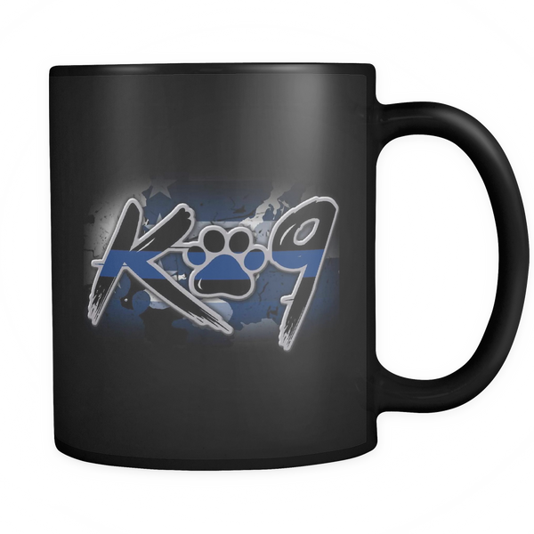 K9 Police Officer Mug - Blue Angel Coffee