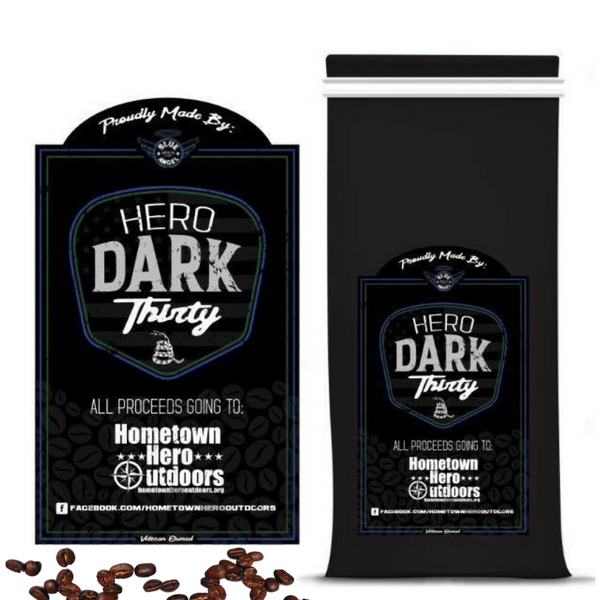 SOLD OUT -- Hero Dark Thirty Blend 2 or 3 Pack (Shipping included) - Blue Angel Coffee