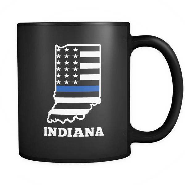 Indiana Thin Blue Line - Blue Angel Coffee