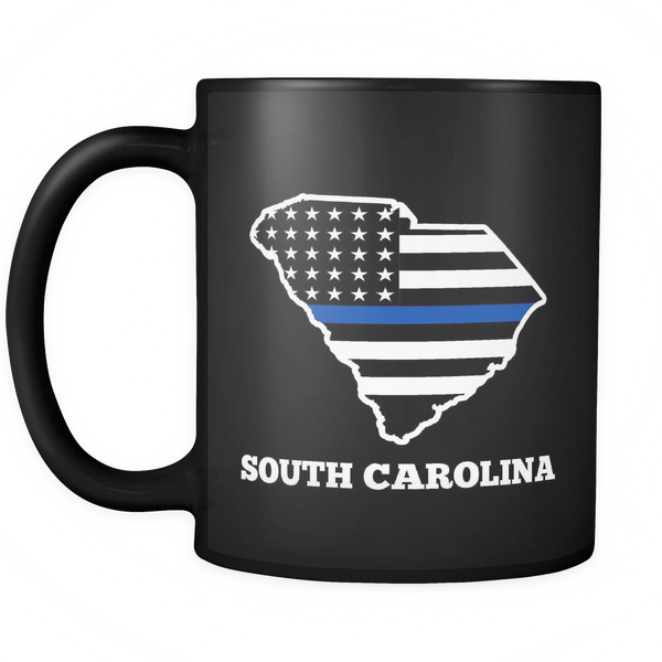 South Carolina Police Officer Mug - Blue Angel Coffee