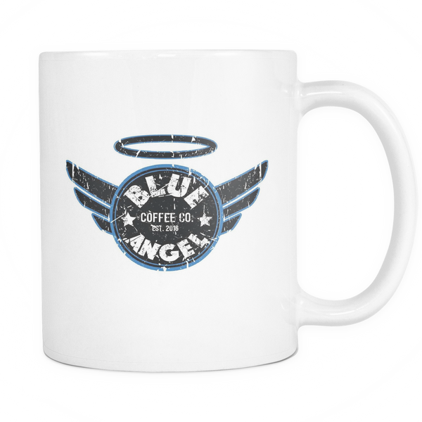 Blue Angel Coffee Logo Mug - Blue Angel Coffee
