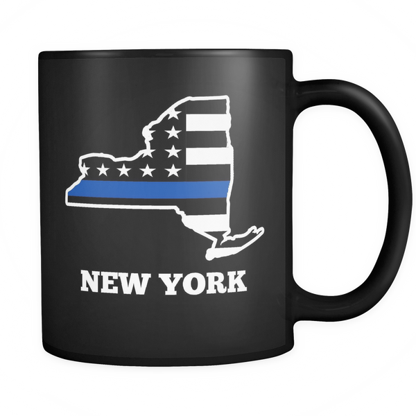 New York Thin Blue Line - Blue Angel Coffee