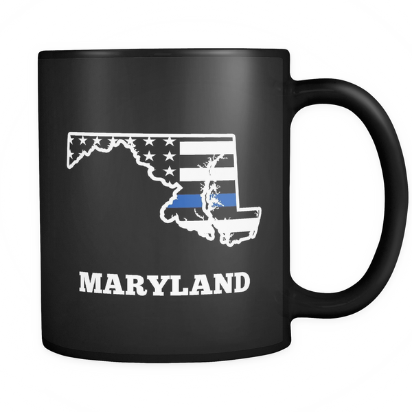 Maryland Thin Blue Line - Blue Angel Coffee