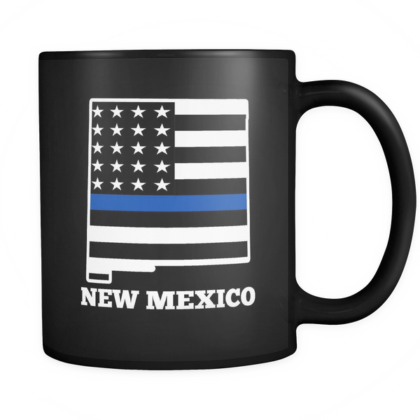New Mexico Thin Blue Line - Blue Angel Coffee