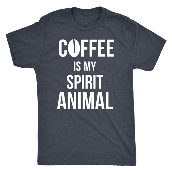 Coffee is my spirit animal - white - Blue Angel Coffee
