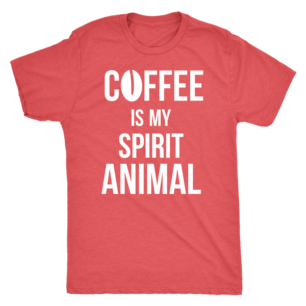 Coffee is my spirit animal - white