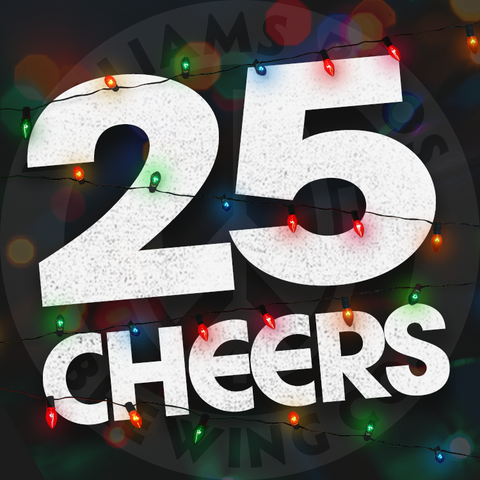 25 Cheers!