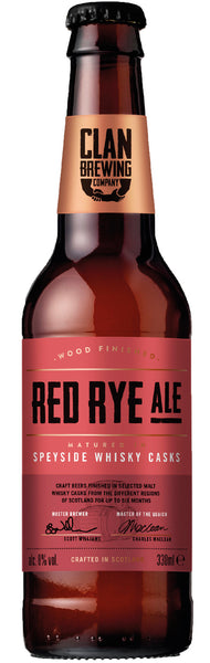 Clan Brewing Co - Red Rye Ale
