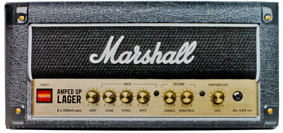 Marshall - Amped Up Lager (Giftbox 8x33cl)