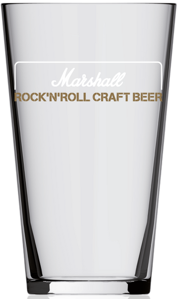 Marshall - Pint Glass