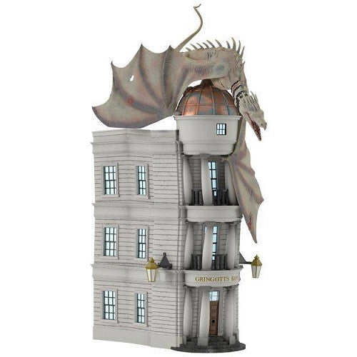 Bring home Diagon Alley's dragon with Hallmark's new Gringotts tree ornament by Michael Gavin