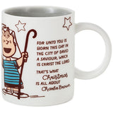 Peanuts® Linus Christmas Speech Mug