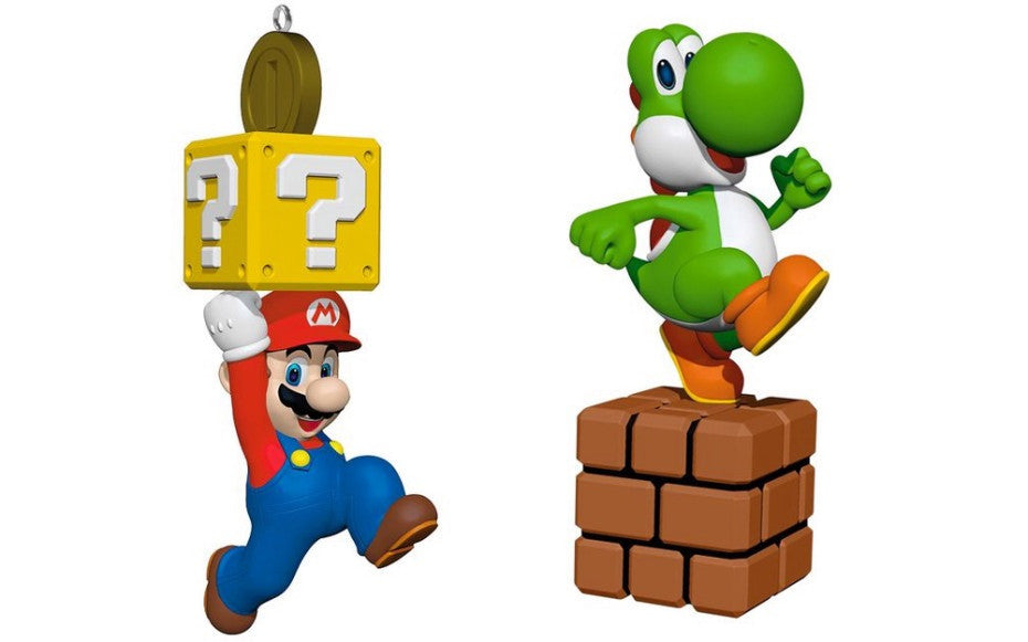Why Mario's Hallmark ornaments matter beyond your Christmas tree by MIKE MINOTTI