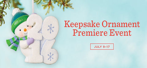 2016 Hallmark Keepsake Ornament Premier July 9-17