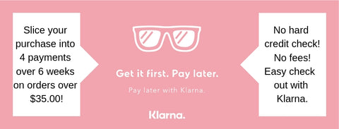 Klarna interest free installments - Ria's Hallmark