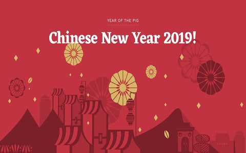 Chinese New Year 2019 - Year of the Pig - Ria's Hallmark Shop