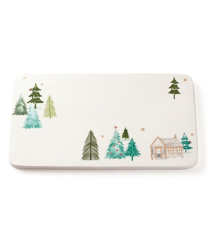 Balsam Lane™  Cabin Cheese Slabe Tray by Lenox