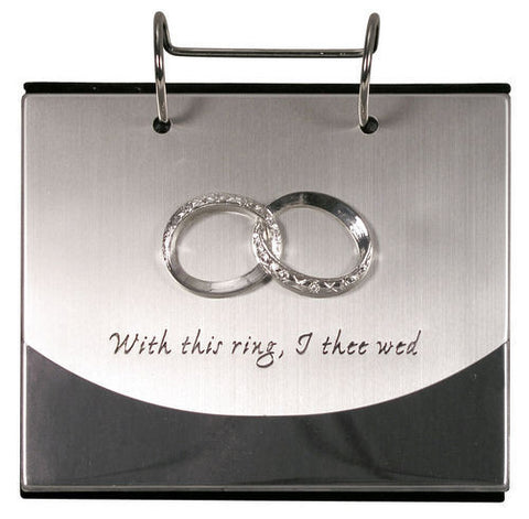 Malden With This Ring I Thee Wed Photo Album - Ria's Hallmark & Jewelry Boutique