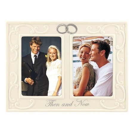 Malden ''Then and Now'' 2-Opening Collage Frame - Ria's Hallmark & Jewelry Boutique
