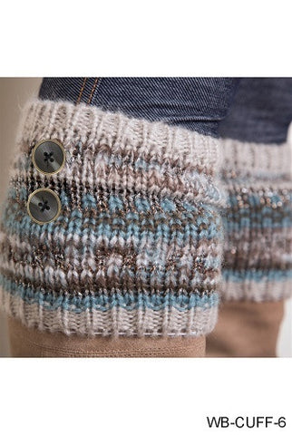 WB Alpine Boot Cuffs - Ria's Hallmark & Jewelry Boutique - 1