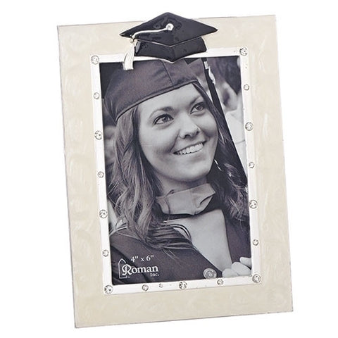 "Caroline Collection 7.5""H Graduation Frame - Ria's Hallmark & Jewelry Boutique"