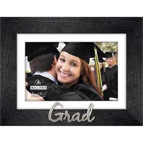 Malden 4'' x 6'' Grad Wood Photo Frame - Ria's Hallmark & Jewelry Boutique