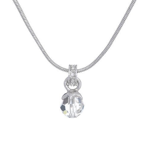 Simple Elegance by Annaleece Swarovski Crystal Necklace - Ria's Hallmark & Jewelry Boutique