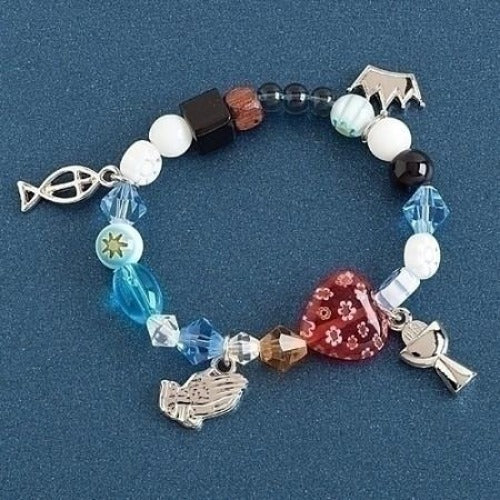 Communion Story Bracelet - Ria's Hallmark & Jewelry Boutique