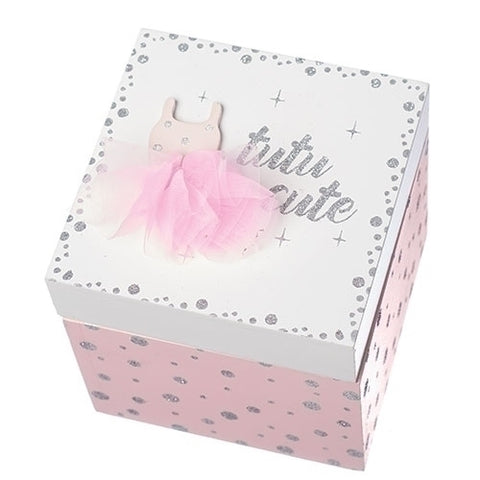 Roman Ballet Keepsake Box Tutu Cute