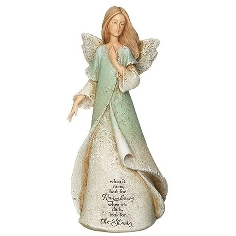 Roman Rainbow and Stars Angel Figurine by Karen Hahn