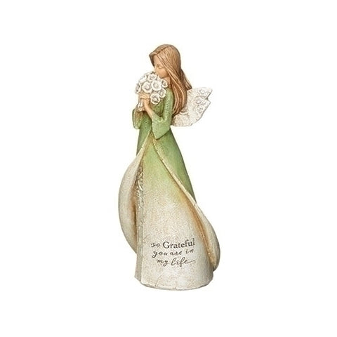 Roman So Grateful Angel Figurine by Karen Hahn