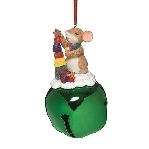 Candy Jingle Bell Tree Ornament Charming Tails by Dean Griff