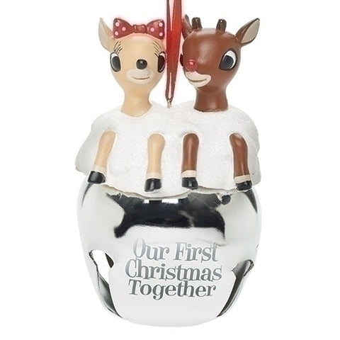 Rudolph and Clarice Jingle Bells Our First Christmas Together
