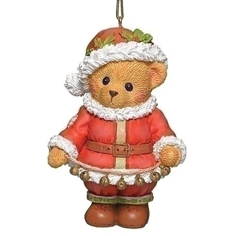 Cherished Teddies Santa Teddy Ornament