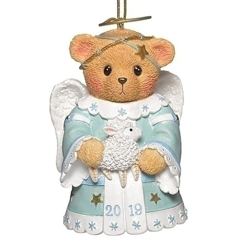 Cherished Teddies Angel Teddy 2019 Annual Bell Ornament Glen Hillman