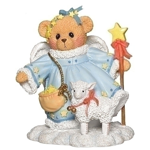 Cherished Teddies Stella Snow Angel Figurine