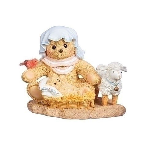 Cherished Teddies Mary and Jesus Bear Figurine