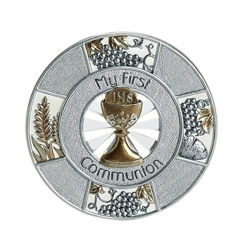 """My First Communion"" Wall Plaque - Ria's Hallmark & Jewelry Boutique"