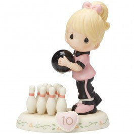 Precious Moments Growing in Grace Age 10 Blonde - Ria's Hallmark & Jewelry Boutique