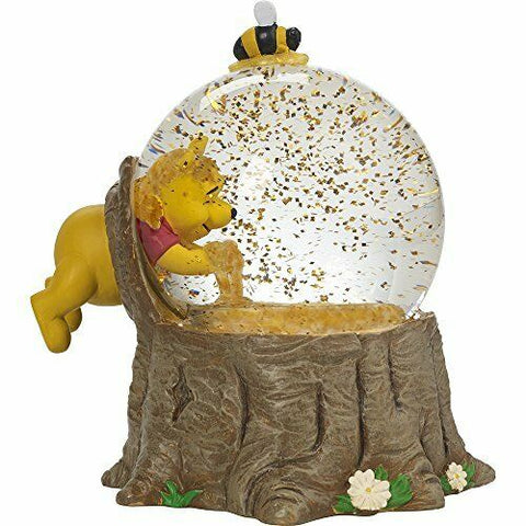 "Disney Winnie The Pooh Musical Snow Globe ""For The Love Of Hunny"""