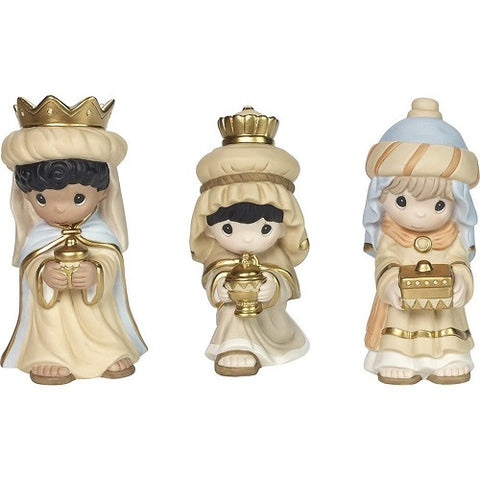 Precious Moments We Three Kings, 3-Piece Nativity Set