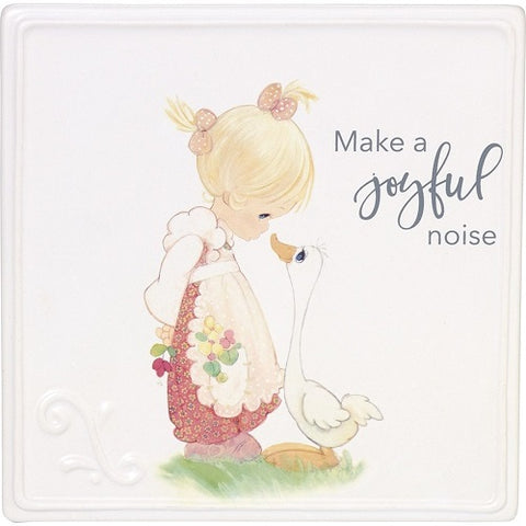 Precious Moments Make A Joyful Noise, Ceramic Plaque