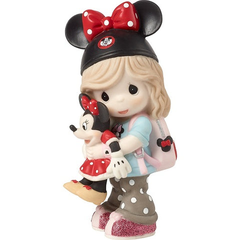 Disney Minnie Mouse Figurine, Disney Dreamer, Bisque Porcelain