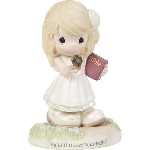 He Will Direct Your Path Figurine