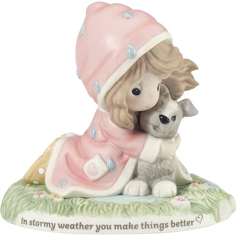 In Stormy Weather You Make Things Better Figurine